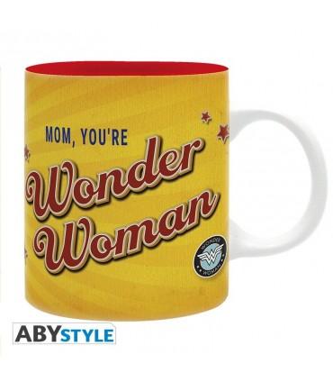 Taza Mamá, eres Wonder Woman -  Liga de la justicia