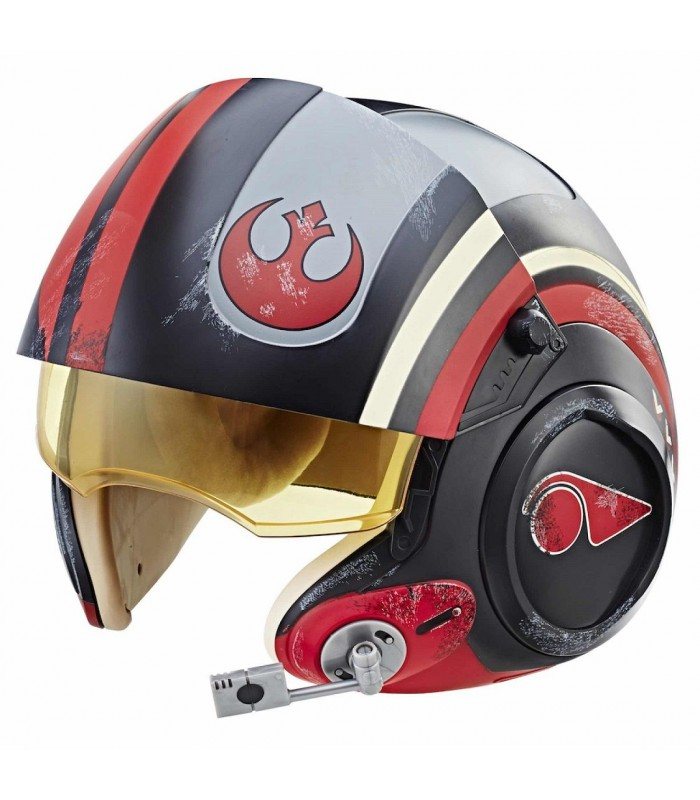 Réplica del casco de Poe Dameron - Star Wars