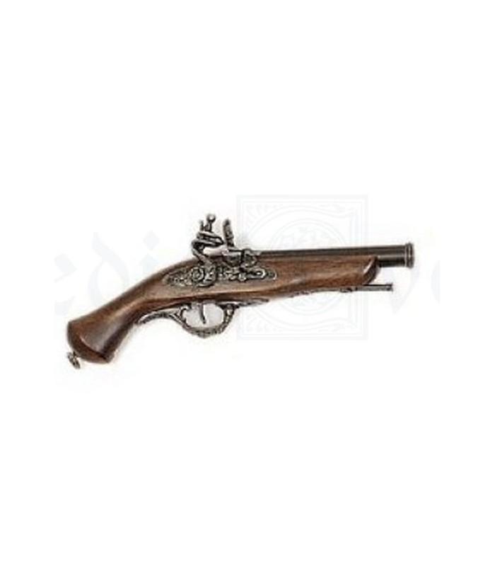 Pistola flintlock siglo XVIII