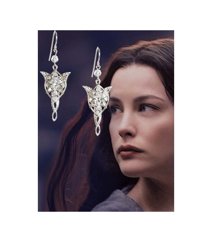 """Pendientes de Arwen """"Estrella del Atardecer"""" (Joya - Noble Col.)"""