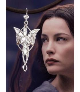 "Colgante de Arwen ""Estrella del Atardecer"" Mini Joya Noble Col."