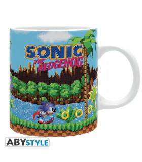 Taza retro Sonic de Sega - Sonic The Hedgehog