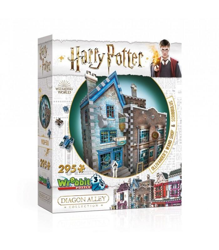 Puzle 3D Tienda de Ollivanders y Scribbulus - Harry Potter