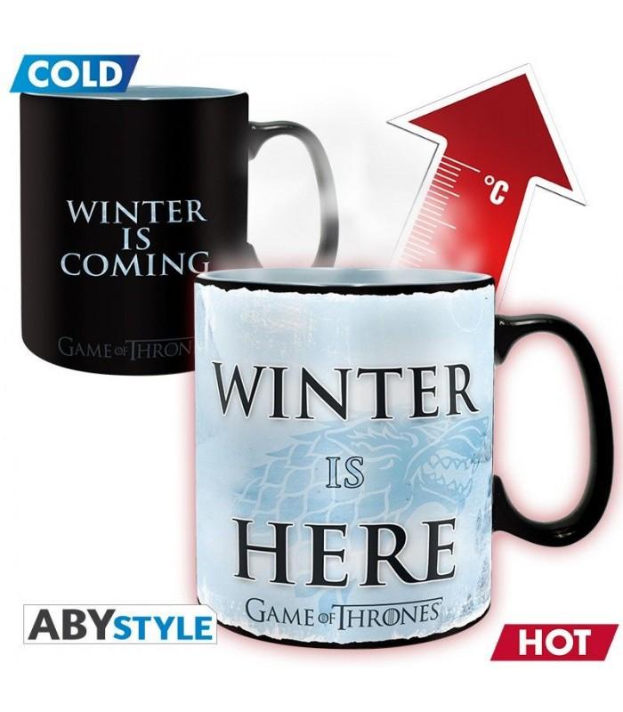 Taza térmica Winter is Here -  Juego de Tronos