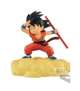 Figura Son Goku con nube kinton - Dragon Ball
