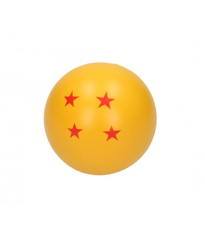 Muñeco antiestrés bola de 4 estrellas - Bola de Dragón