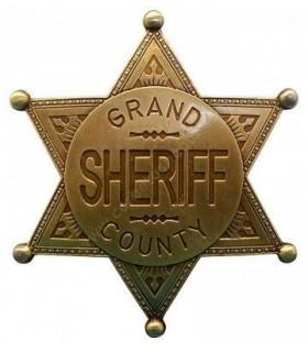 Insignia gran sheriff del condado