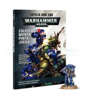 Kit de inicio con revista y miniatura para montar y pintar - Warhammer 40000