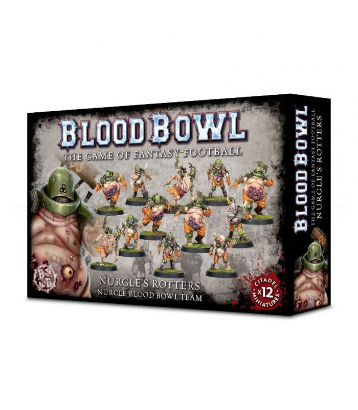 Equipo de Blood Bowl Nurgle's Rotters - Blood Bowl