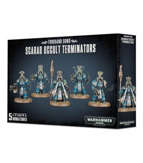 Thousand Sons Scarab Occult Terminators - Warhammer 40.000