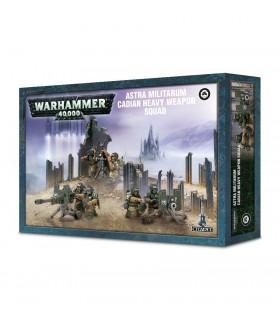 Escuadra de armas pesadas de Cadia - Warhammer 40.000