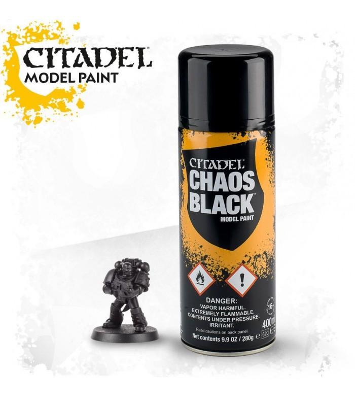 Spray de imprimación Chaos Black - Citadel