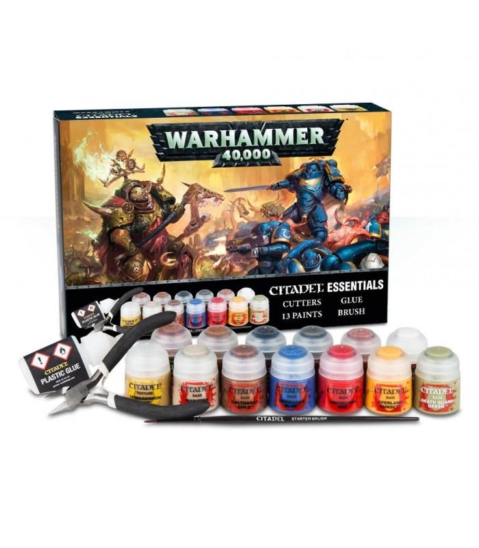 Set Esencial Citadel - Warhammer 40.000