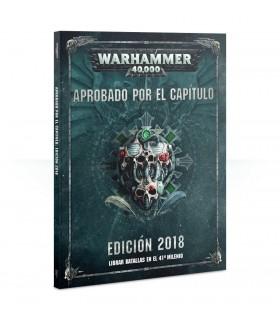 Libro Aprobado por el Capítulo Edición 2018 - Warhammer 40.000