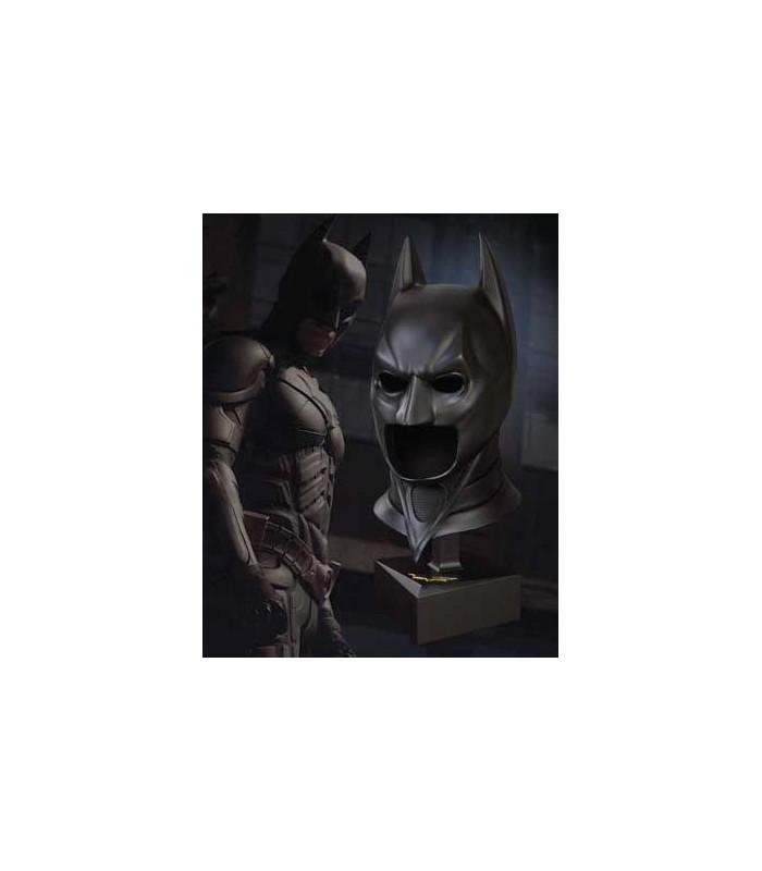 Réplica escala 1:1 de la Máscara de Batman - El Caballero Oscuro