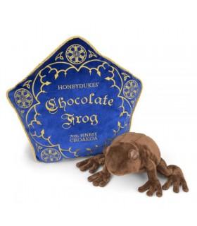 Cojín y rana de chocolate de peluche - Harry Potter