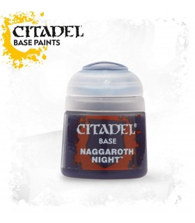 Pintura Base Naggaroth Night - Citadel