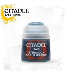 Pintura Base Stegadon Scale Green - Citadel
