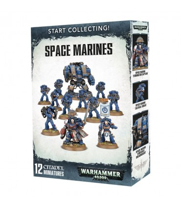 Start Collecting Space Marines - Warhammer 40.000