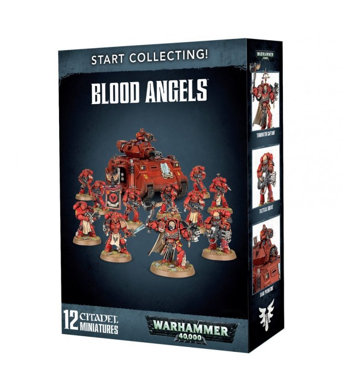 Start Collecting Blood Angels - Warhammer 40.000