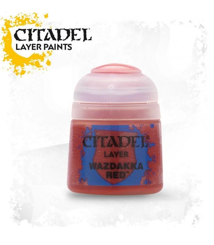 Pintura Layer Wazdakka Red - Citadel