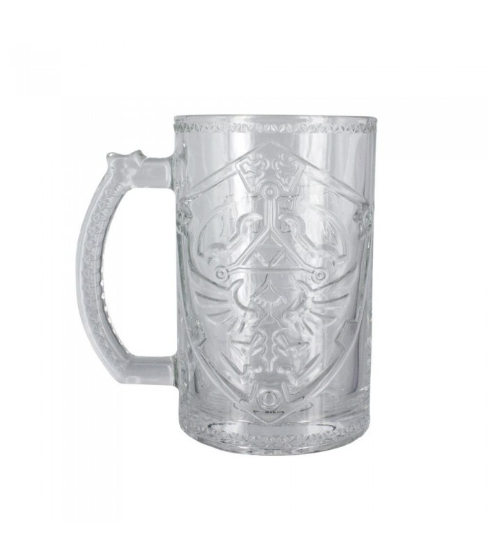 Jarra de cerveza Escudo Hyliano - The Legend of Zelda
