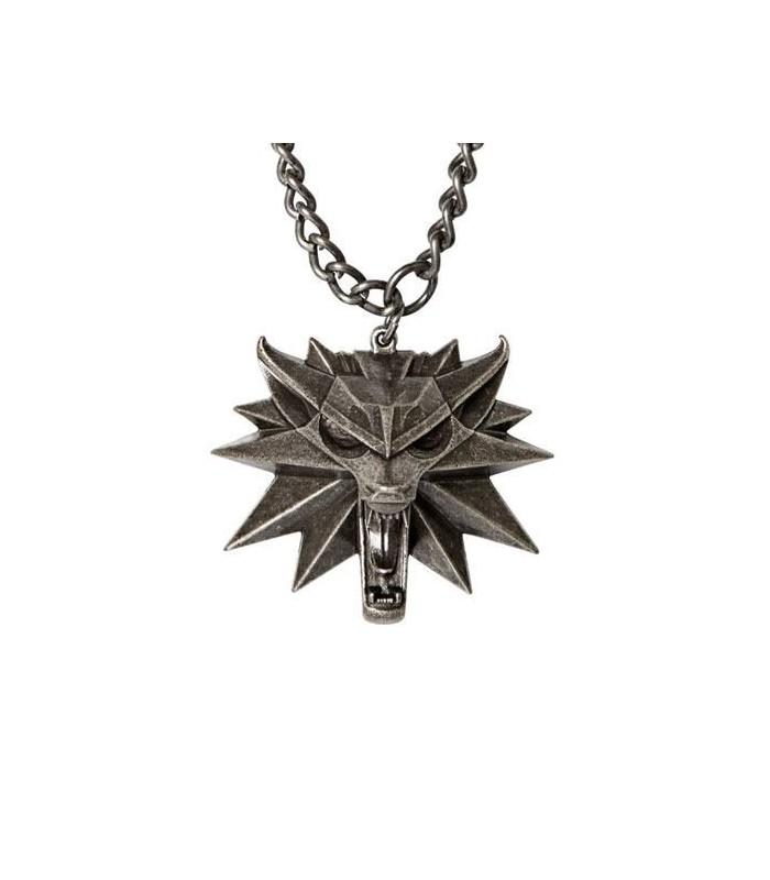 Medallón escuela del Lobo - The Witcher