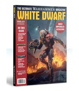 Revista White Dwarf Marzo 2019 (en inglés)