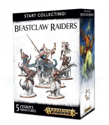 Start collecting Beastclaw Raiders - Warhammer Age of Sigmar