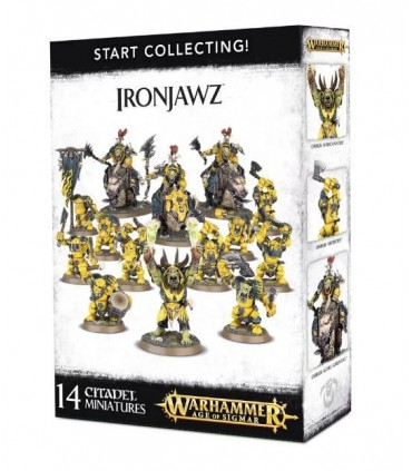 Start collecting Ironjawz - Warhammer Age of Sigmar
