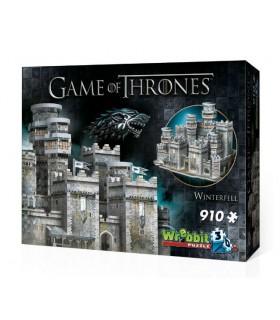 Puzle 3D de Invernalia - Juego de Tronos