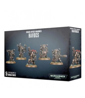 Havocs - chaos space marines - Warhammer 40.000