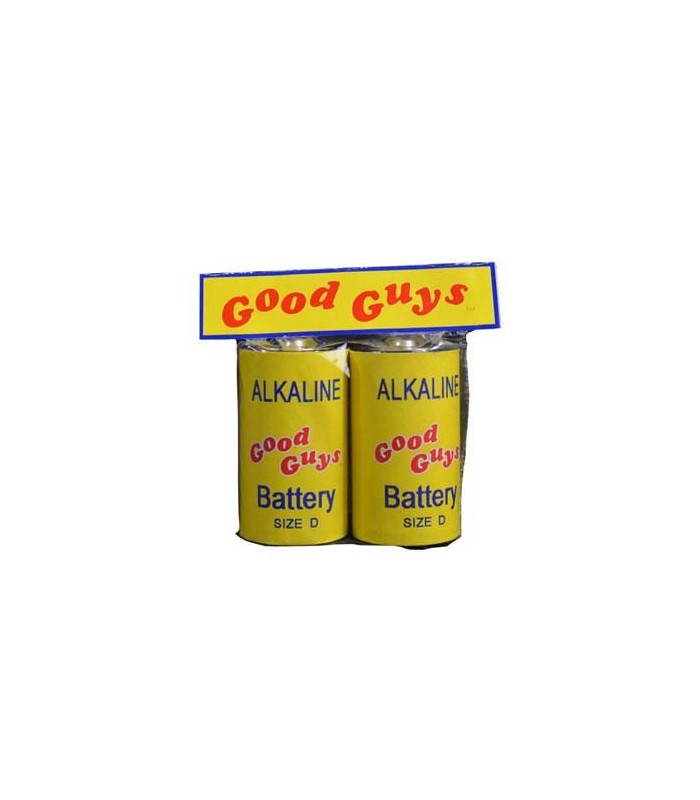 Réplica pilas accesorio para Chucky - Good guy Chucky