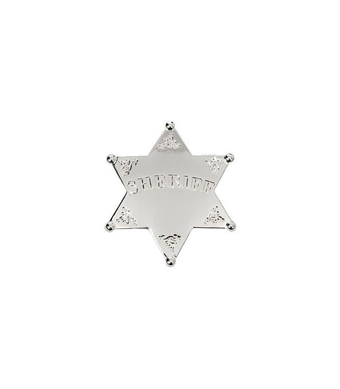 Insignia Sheriff con baño de plata