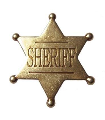 Insignia de Sheriff pequeña
