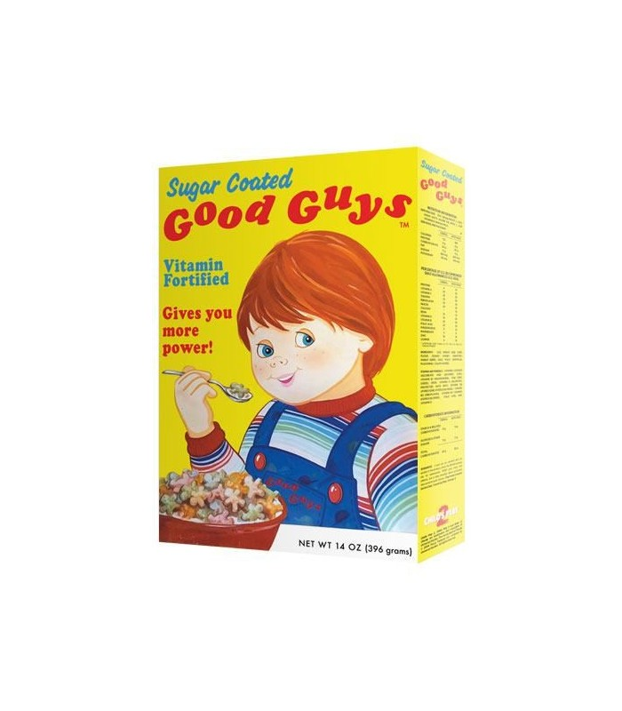 Réplica caja de cereales Good Guys accesorio para Chucky - Good guy Chucky