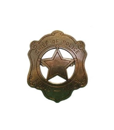 Insignia de Jefe de Policía de Ennis Texas