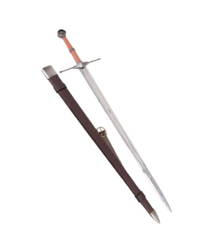 Espada de acero de brujo cazamonstruos
