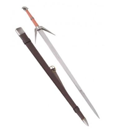 Espada de plata de brujo cazamonstruos