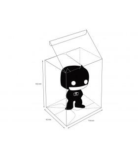 Caja protectora transparente para figuras Funko Pop! de 9 cm