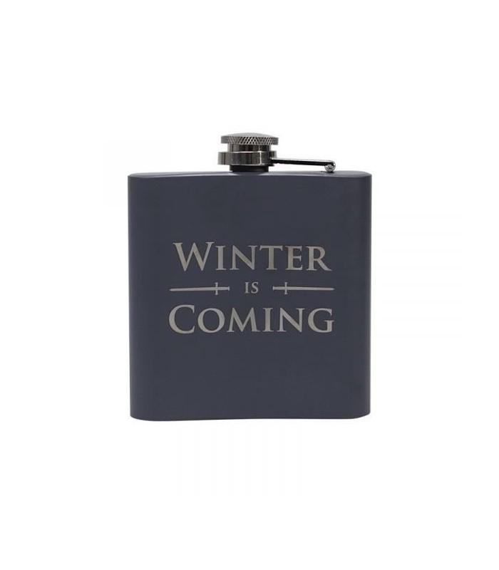 """Petaca Stark """"Se acerca el invierno""""- Juego de Tronos"""