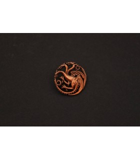 Pin casa Targaryen - Juego de Tronos