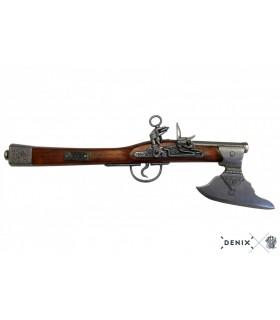 Réplica hacha pistola alemana S.XVII