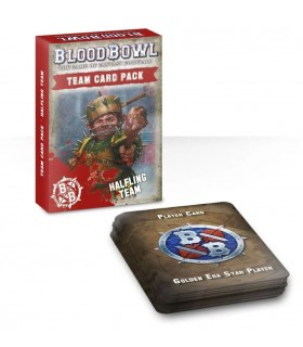 Paquete de cartas de equipo Halflings - Blood Bowl