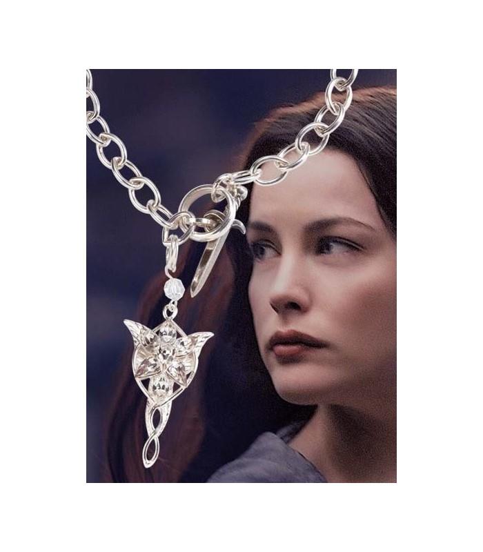 """Colgante de Arwen """"Estrella del Atardecer"""" Brazalete (Noble C.)"""