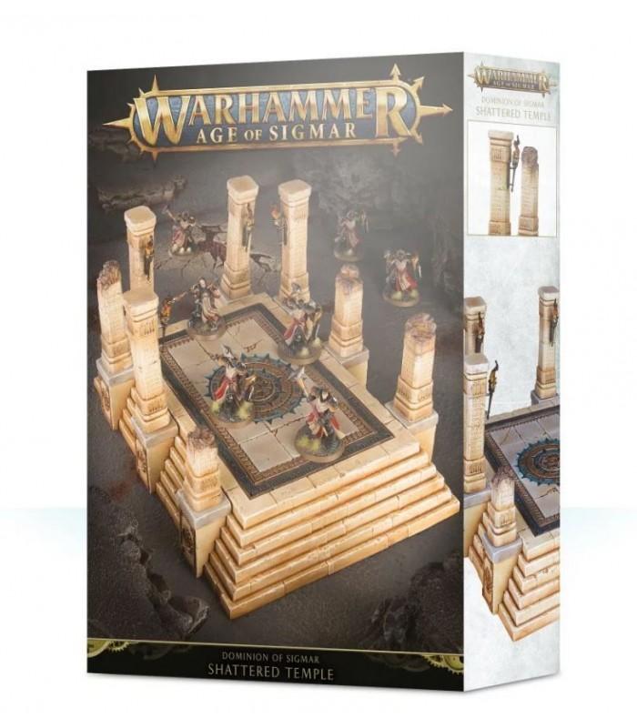 Kit escenografía el templo quebrado - El dominio de Sigmar - Warhammer: Age of Sigmar