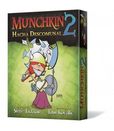 Munchkin 2: Hacha descomunal - Juego de Rol