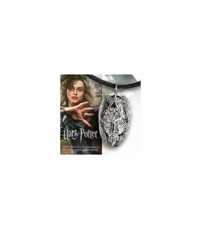 Colgante Máscara de Bellatrix Lestrange (Joya)