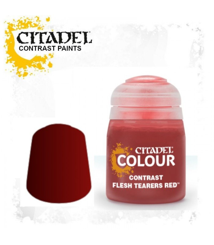 Pintura Contrast Flesh Tearers Red - Citadel
