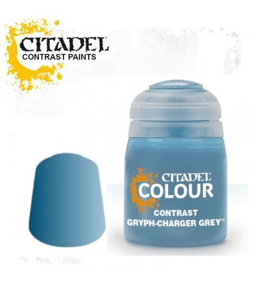 Pintura Contrast Gryph-Charger Grey - Citadel